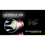 Solarforce LC-XML2 U2 Five Mode 2.7-9.0V