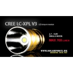 Solarforce LC-XPL V3 Single Mode 2.7-9.0V