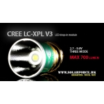 Solarforce LC-XPL V3 Three Mode 2.7-9.0V