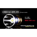 Solarforce LC-XPL V3 Five Mode 2.7-9.0V