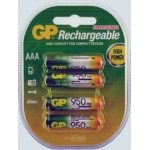 GP 950mAh NIMH AAA 1.2v Rechargeable Batteries