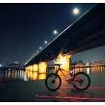 San Yun Rear Bicycle LED Laser Tail Light